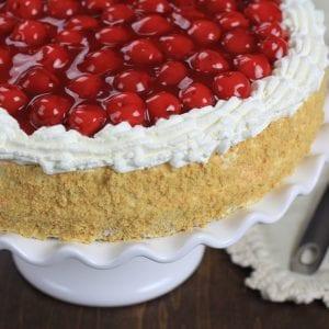 Cherry Jell-O Cake