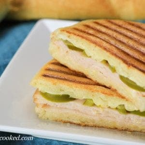 Jalapeno Turkey Panini