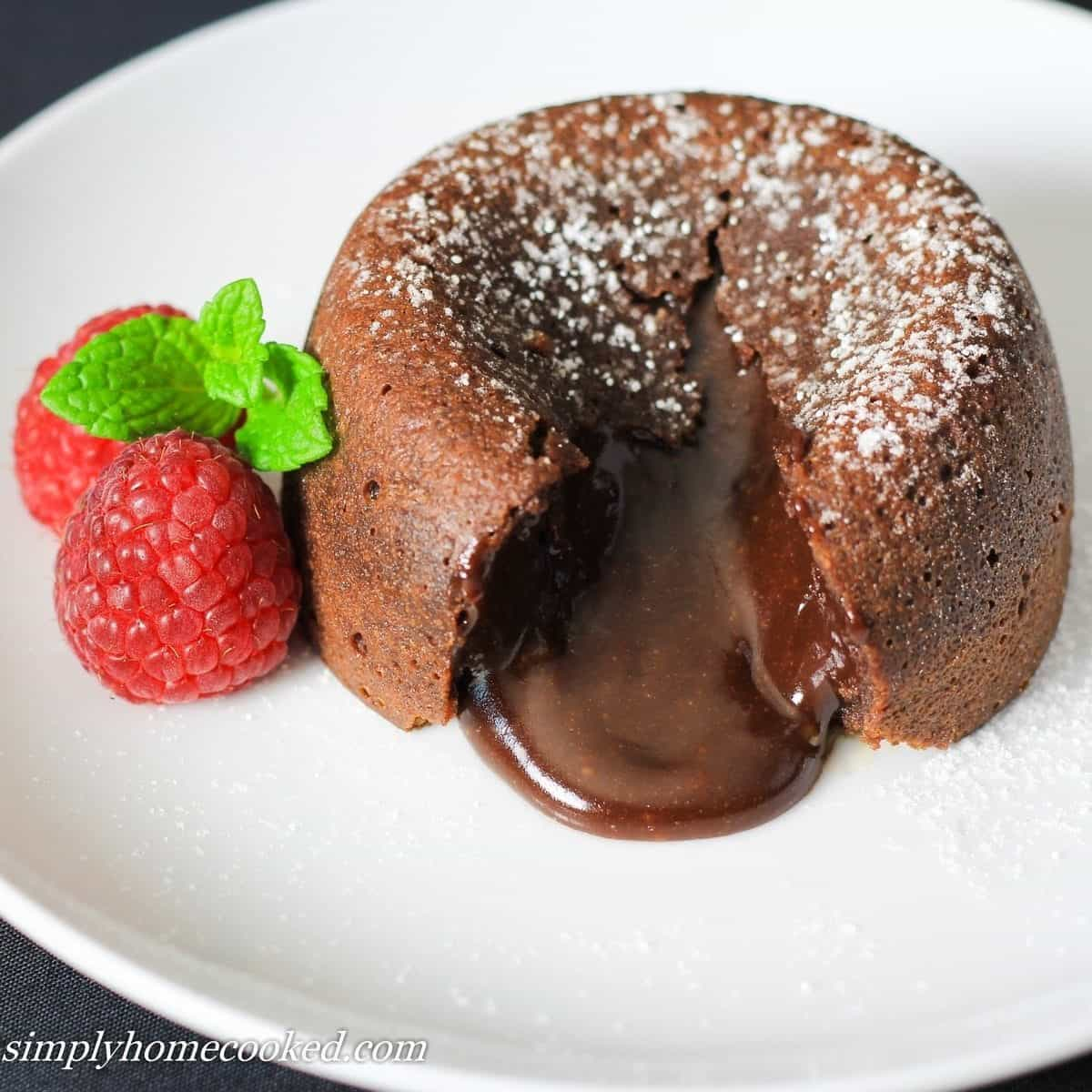 Chocolate Lava Cake Simply Home Cooked