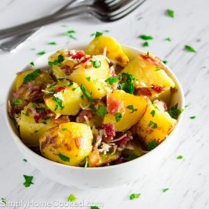 Bacon and Parsley Potatoes
