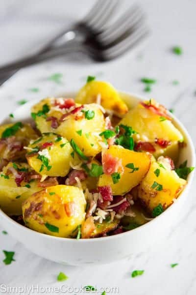 Bacon Parsely Potatoes