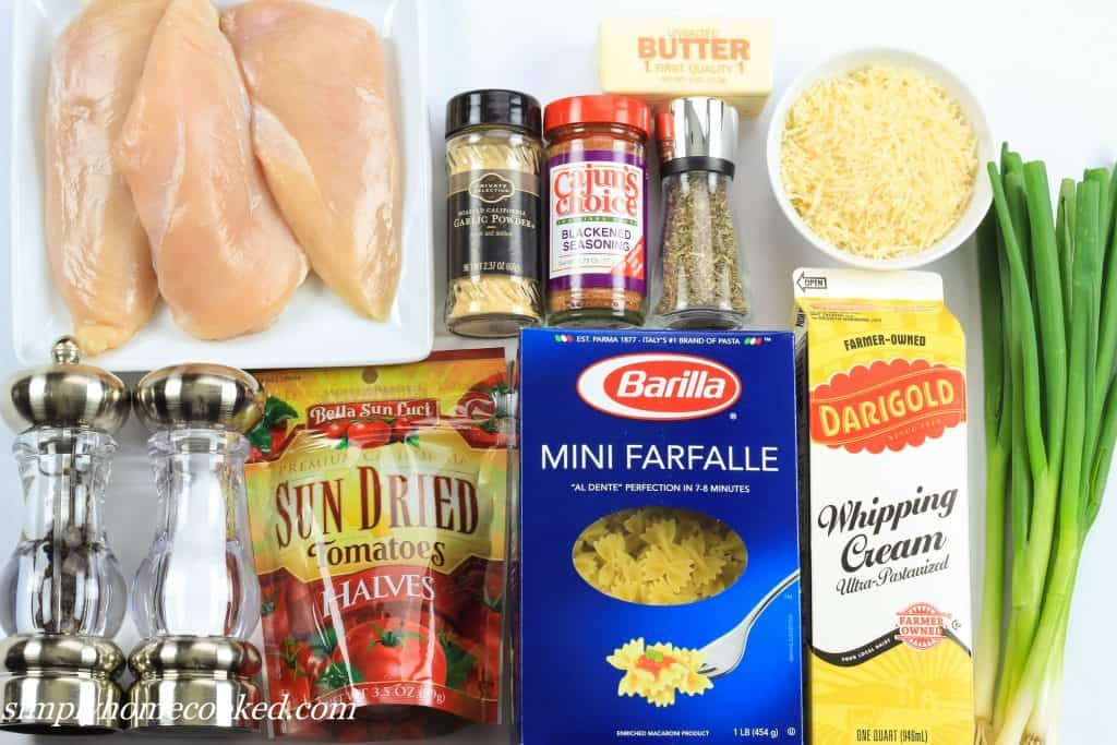 Blackened chicken pasta edited