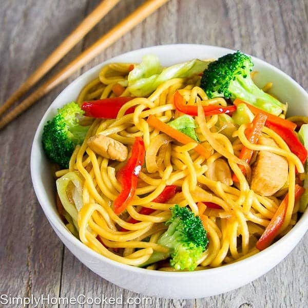Chicken yakisoba simply home cooked chicken yakisoba forumfinder Choice Image