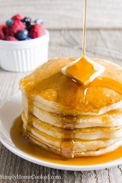 Fluffy Buttermilk Pancakes-2