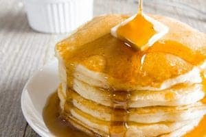 Fluffy Homemade Pancakes