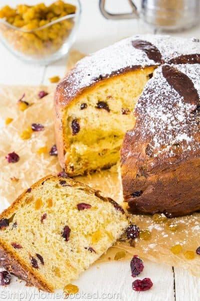 Panettone Bread_