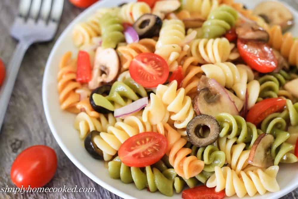 Simply Homecooked Pasta Salad