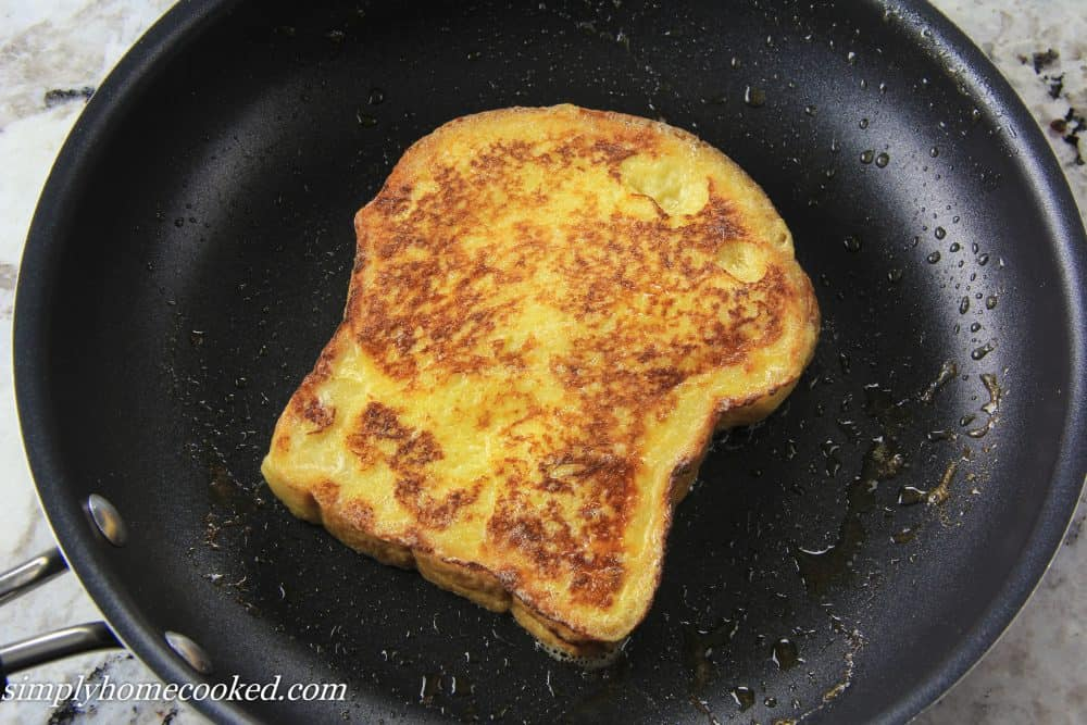 Cheese Toastie In A Frying Pan