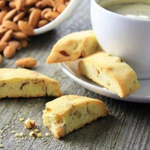 Mini Almond Biscotti