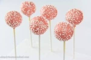 Cake Pops With Box Cake Mix