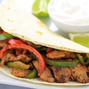 Cast Iron Fajitas