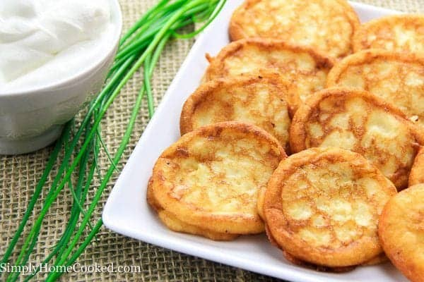 mashed potato pancakes_