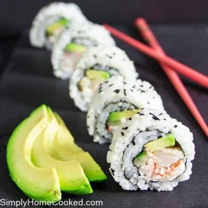 Shrimp tempura roll-11