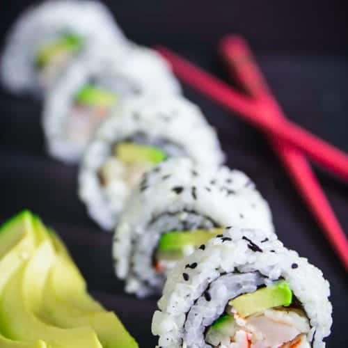 Ricetta Sushi In Tempura.Shrimp Tempura Roll Recipe Simply Home Cooked