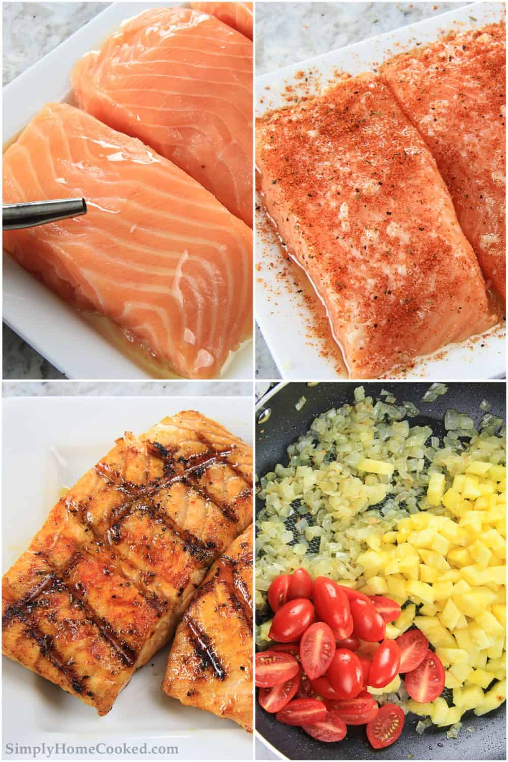 steps to make pineapple salmon