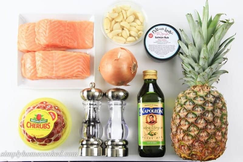 pineapple salom ingredients
