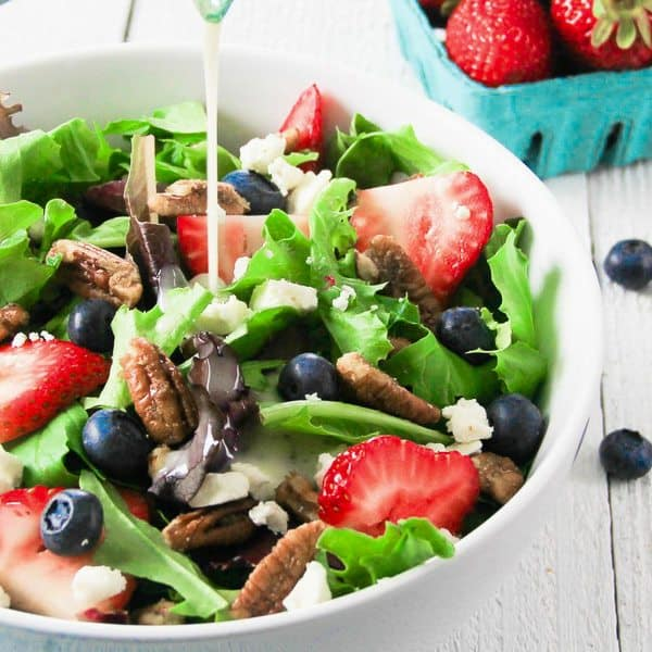 Strawberry Pecan Salad-24