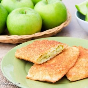 Apple Chebureki (Turnovers)