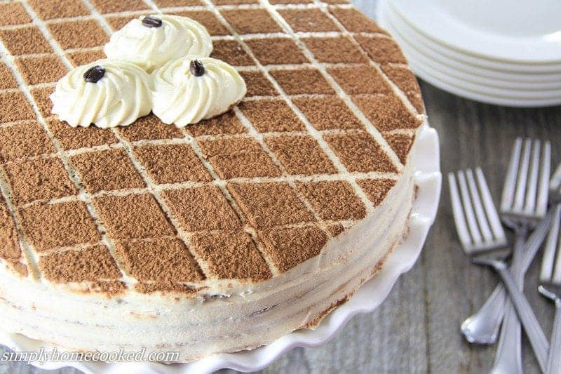 how to make tiramisu cake