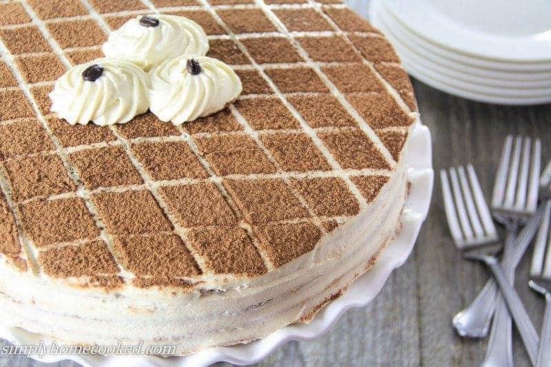Tiramisu Cake Simply Home Cooked