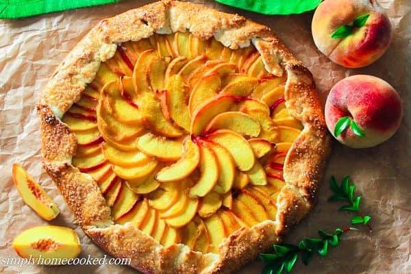 Peach Galette-2