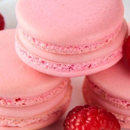 Raspberry Macarons Simply Home Cooked