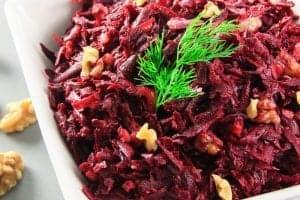Beet and Walnut Salad