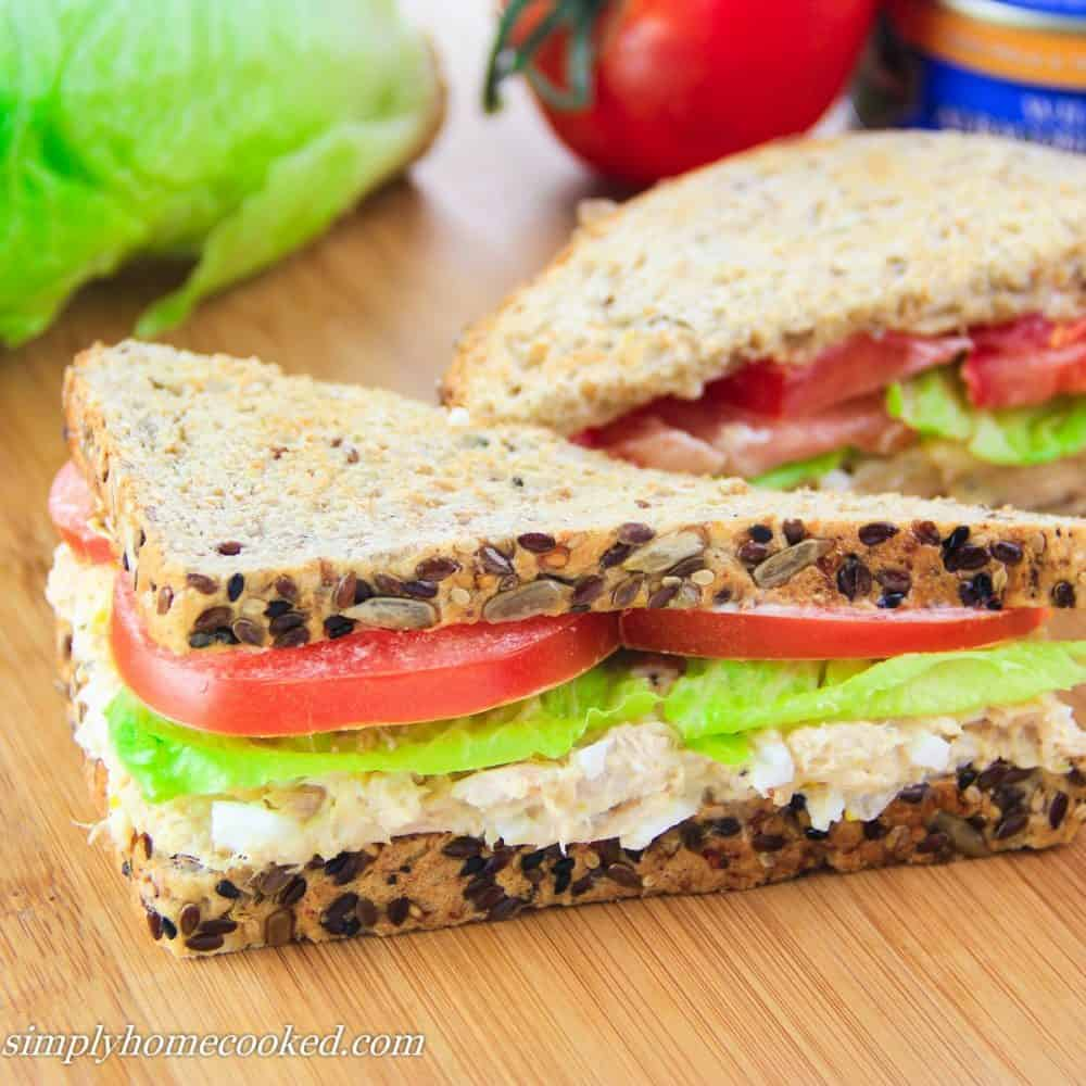 how to make tuna sandwich at home