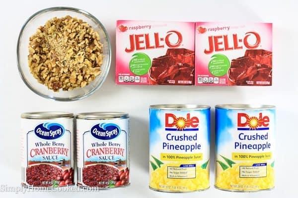 Cranberry jello ingredients
