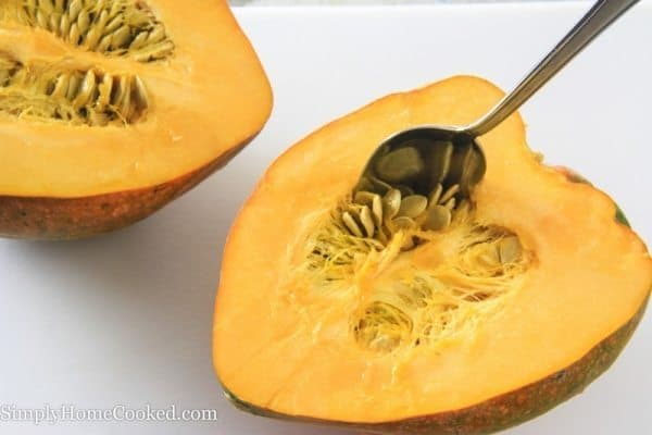 Roasted Acorn Squash with Brown Sugar and Butter-2