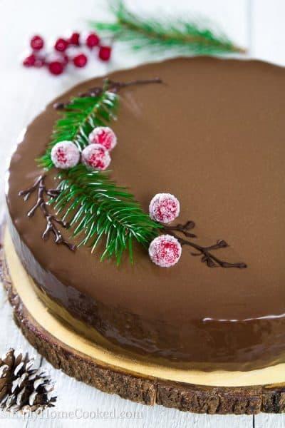 Drunken cherry cake 2