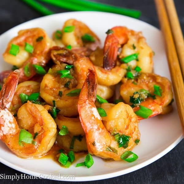 Garlic Ginger Shrimp Simply Home Cooked