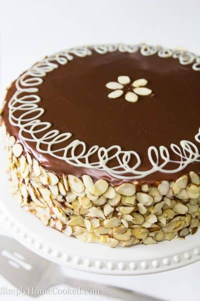 Royal Honey Cake with Plums-12