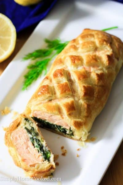 Salmon Wellington Simply Home Cooked