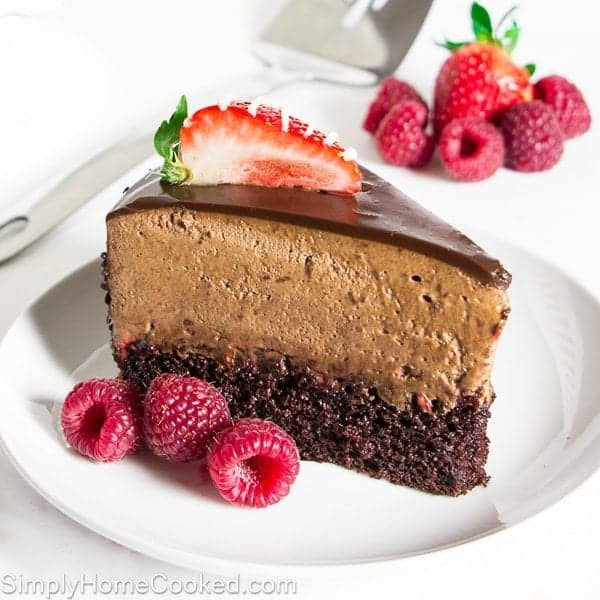 chocolate raspberry mousse cake chocolate raspberry mousse cake simply home cooked 2903