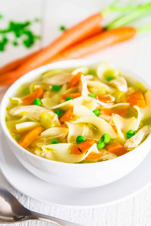 Quick Chicken Noodle Soup Recipe