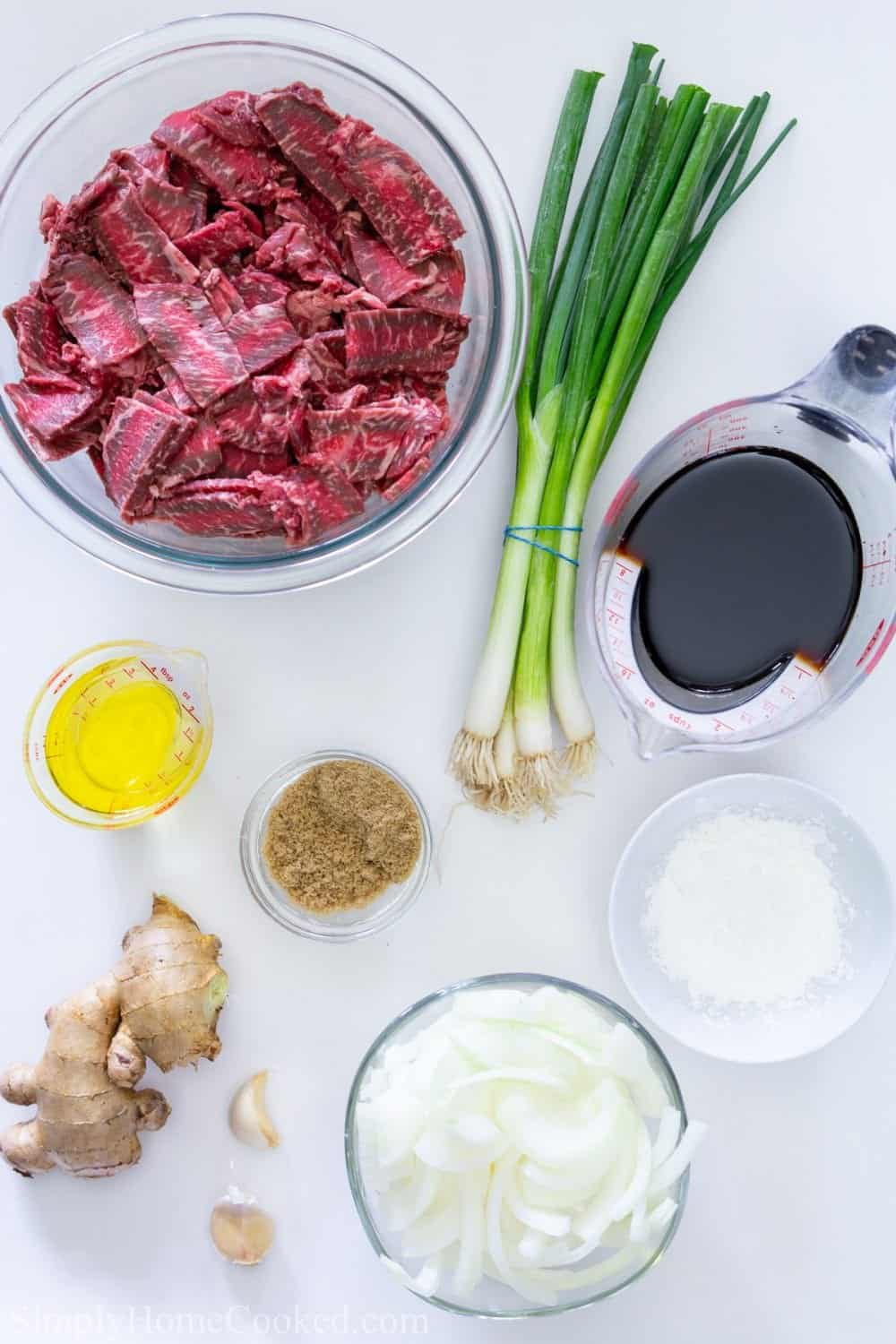 ingredients for mongolian beef