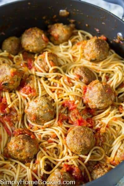 Spaghetti and meatballs-18