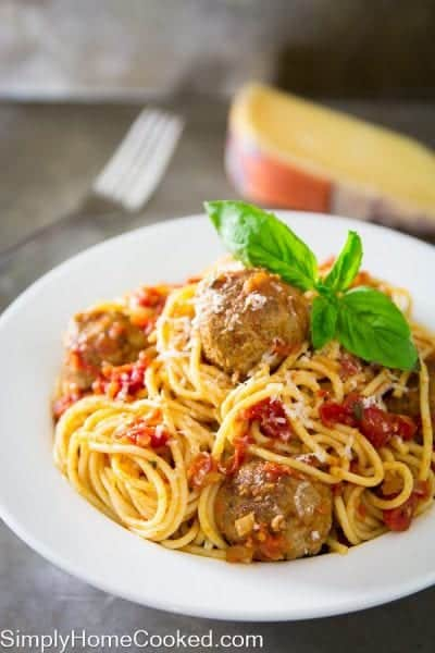 Spaghetti and meatballs-20