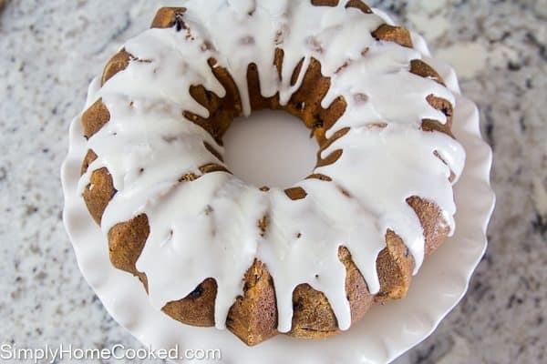Strawberry Bundt Cake-21