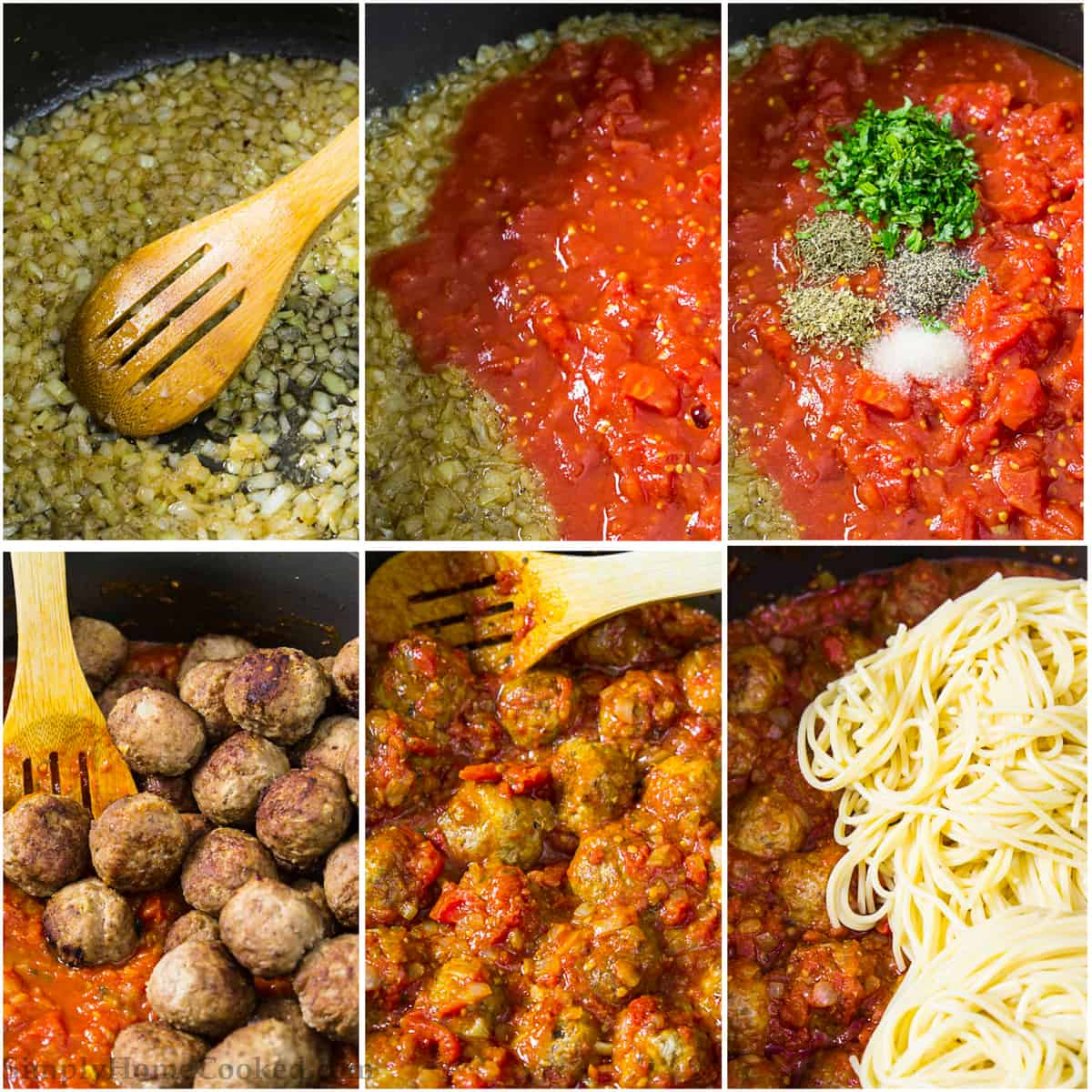 Best Meatballs And Homemade Spaghetti Sauce Simply Home Cooked