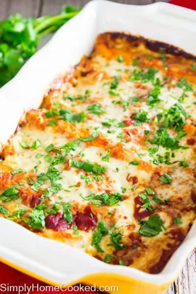 Enchiladas with red sauce_-18