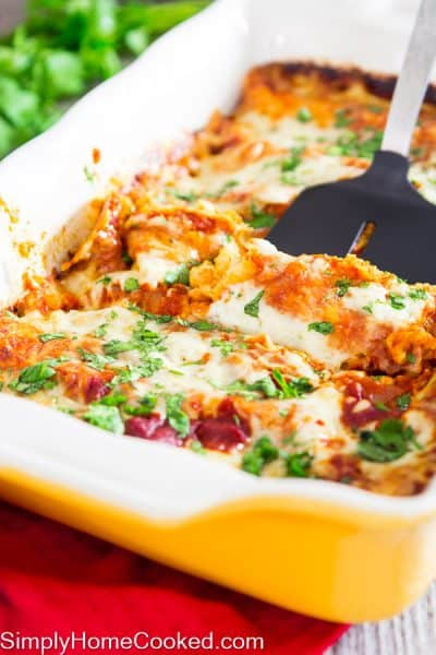Enchiladas with red sauce_-20