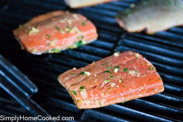 Grilled cilantro lime salmon-6
