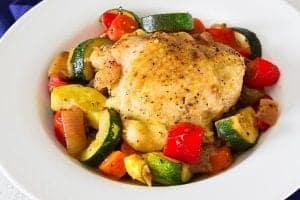 Paleo Chicken and Vegetable Casserole