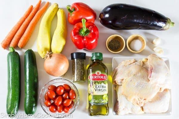 Paleo Chicken and Vegetable Casserole_