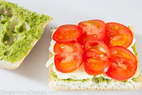 Tomato Basil Panini-4