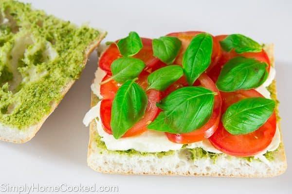 Tomato Basil Panini-6