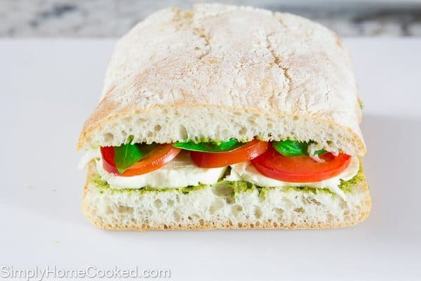 Tomato Basil Panini-7