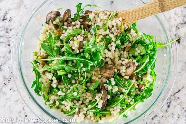 couscous and arugula salad-10